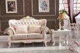 Sofà di legno di Chesterfield della quercia solida del salone