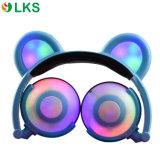 Cuffie chiare sveglie d'ardore dell'orecchio LED del panda