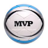 Bola de cuero sintetizada desinflada cosida mano de Futsal