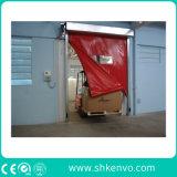 Auto da tela do PVC que repara a porta rápida da ascensão para o quarto desinfetado