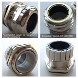 Talla ininflamable del conector de la paginación de la glándula de cable de la compresión flexible de cobre
