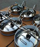 Mirilla de acero inoxidable tapa de registro sanitario de alcantarilla depósito