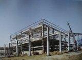 Entresuelo de la estructura de acero que suela la estructura de acero