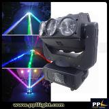 Luz principal movente do feixe da rotação do diodo emissor de luz 3*3 9PCS 12W 4in1