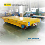 Heavy Industry Rail Motorized Flat Wagon Track Trailer