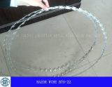 Провод бритвы---Горяч-Окунуто гальванизированный, высокуглеродистый стальной материал