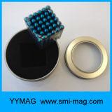 Cubo neo das esferas magnéticas do volume do ímã da esfera do diâmetro 5mm para a venda