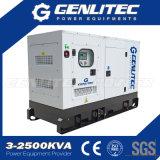 gerador Diesel portátil silencioso Perkins de 15kVA 12kw