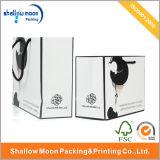 Sac de papier personnalisé pour l'emballage de cadeau et le sac à provisions