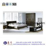Kundenspezifische Hauptmöbel-Schwarz-Farben-Schlafzimmer-Möbel (B13#)