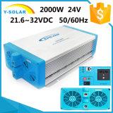 Shi-2000W-24V/48V-220V 21.6~32VDC +RS-485/RS-232 solare fuori dall'invertitore di griglia