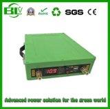 Portátil al aire libre en línea de salida de 12V 80Ah Li-ion UPS retroceder mucho tiempo en espera de fuente de alimentación AC/DC cargador con luz LED