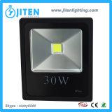 Indicatore luminoso/illuminazione esterni solari del proiettore IP65 LED dell'indicatore luminoso 30W della lampada di inondazione del LED