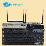 Interruptor Ethernet de fibra óptica CAT-Multiplexado gerenciado
