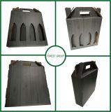 Коробка черного печатание упаковывая для перевозкы груза