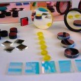 Круговое высокой передачи изготовленный на заказ или квадратное покрашенное оптически стекло
