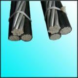 Al 12.7/22kv/кабель ABC кабеля XLPE AS/NZS 3599.2 стандартный/PVC изолированный накладными расходами