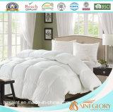 100% Comforter polis do branco do hotel da fibra