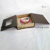 Caixa de cartão Handmade da caixa de jóia do projeto especial