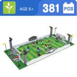 Ausini blockt Plastikfußball-Zählimpuls Spielwaren 381PCS für Kinder