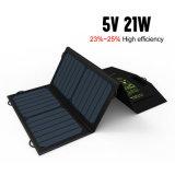 Faltbares bewegliches SolarChager 5V 21W verdoppeln USB-Ausgabe