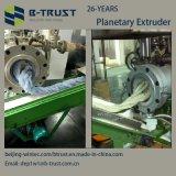 Máquina de la protuberancia del PVC con los tornillos y el barril planetarios