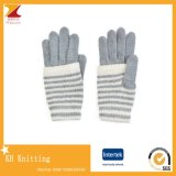 Bande personalizzate che lavorano a maglia i guanti delle lane