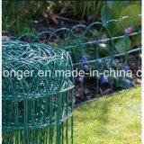 花園のボーダー塀または金網