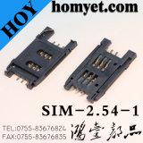 Micro connettore di scheda dello zoccolo SIM della scheda di SIM con il tipo di SMD