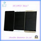 이동 전화 Huawei 동료 7을%s 중국 접촉 스크린 M7 LCD