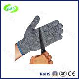 Heiße verkaufenausschnitt-beständige Handschuhe der Kohlenstoff-Faser für industriellen Verbrauch