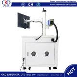 Machine d'inscription de laser de fibre de la CE 50W pour la note profonde en métal
