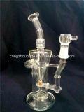 Narguilés en verre de conduites d'eau de pipe de fumage de pipe en verre en gros