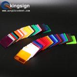 LED 가벼운 상자를 위한 색깔 아크릴 장