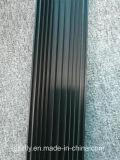 6063 che Matt ha anodizzato l'alluminio nero si sono sporti dissipatore di calore