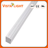 Alumínio Extrusão 40W Strip Lighting LED Linear Light para escritórios