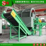Triturador de Pneu de sucata para a reciclagem de resíduos pneumáticos/Madeira/Branco/caixa