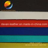 Het hete Verkopende Zijdeachtige het Bijeenkomen Leer van Imiatition van de Oppervlakte voor Dame Shoes Bags Purse