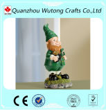 Figurine Gnomes Lovley Polyresin домашнего украшения Handmade изготовленный на заказ
