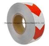 Reklameanzeige-Handelsgüte-Retro reflektierendes bedeckendes Vorsicht-Band (C1300-O)