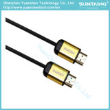 Cabo HDMI de alta velocidade com Ethernet e dois filtros de ferrite