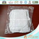 Comforter alternativo bianco del Duvet di lusso del poliestere giù
