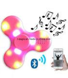 Lautsprecher-Musik-Handspinner EDC-Unruhe-Spinner LED-Bluetooth