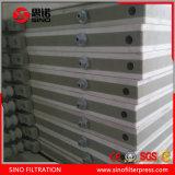 Machine hydraulique automatique de presse de filtre à plaque de membrane de polypropylène