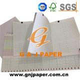Papier thermosensible médical de Ctg de vente chaude en feuille