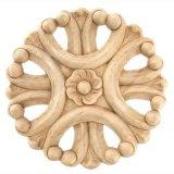 Scultura di legno della rosetta e di scultura della stella