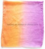 Bright Teinture Impression DIP Polyester léger Lady foulard (HWBPS090)