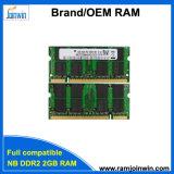 Guter voller kompatibler 128MB*8 Memori DDR2 2GB Laptop der Arbeitsbedingung-