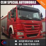 최신 판매 HOWO 6X4 12t 16t Waer 거품 화재 전투 수송기 소방차