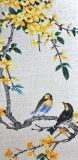 Tuile murale de mur d'illustration de Bisazza